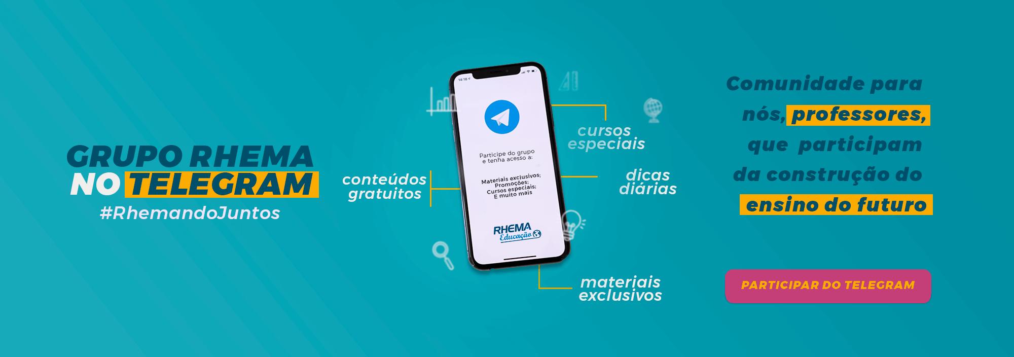 Grupo Rhema No Telegram