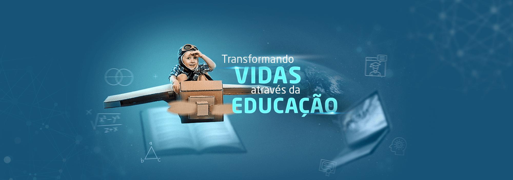 Banner de apresentação Rhema Educação.